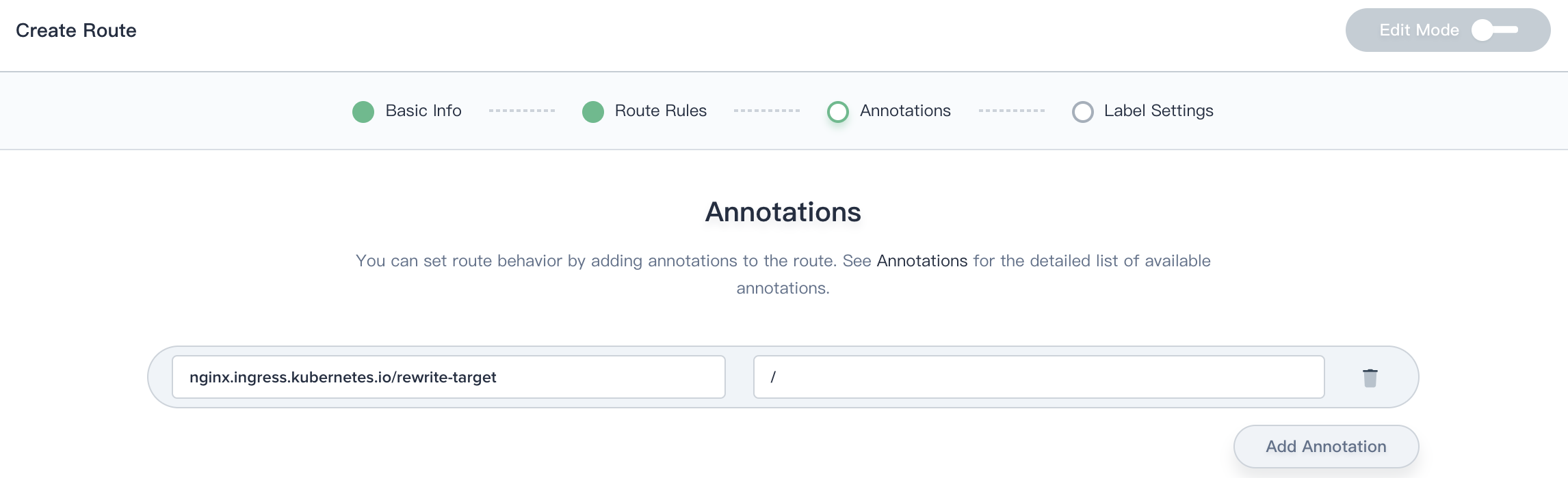 Add Annotations