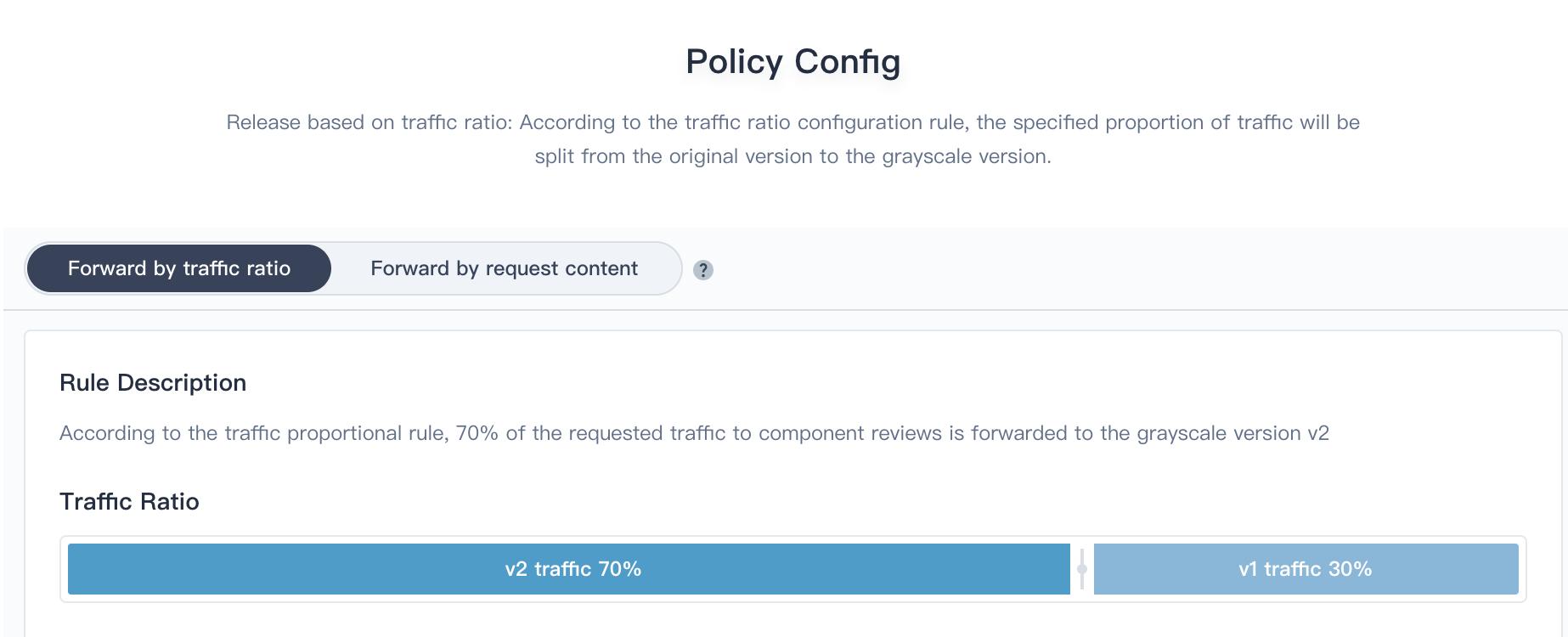 Policy Config