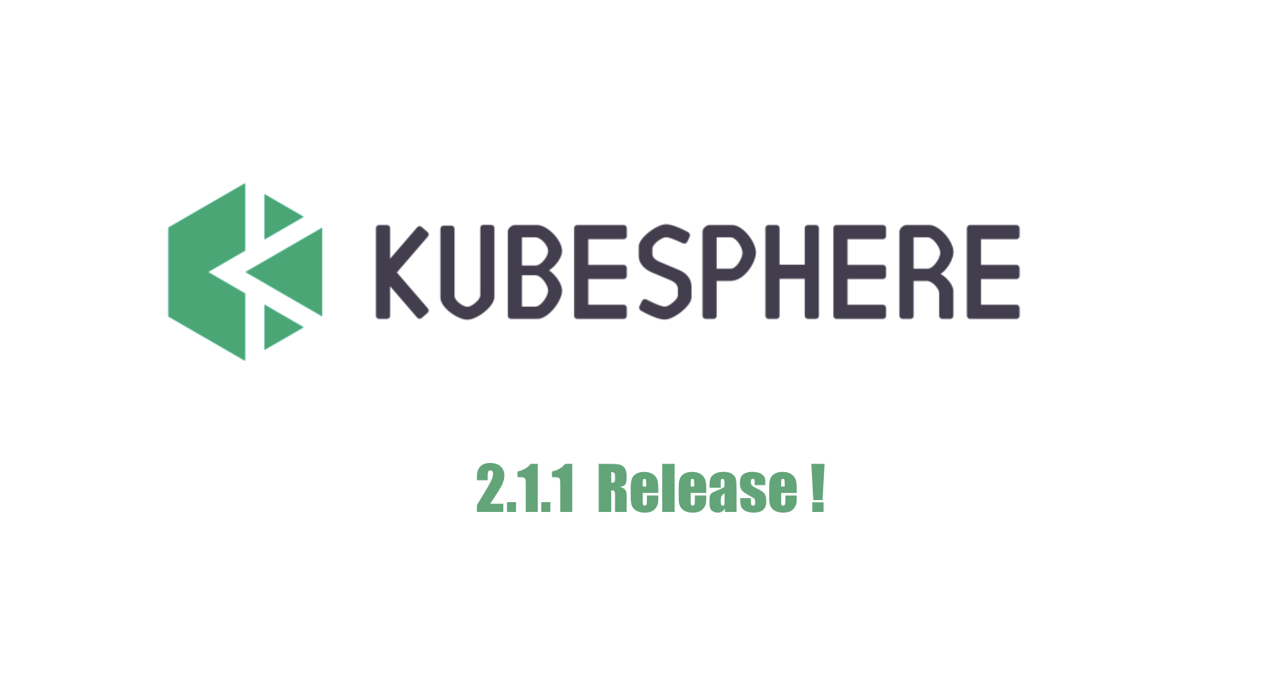 KubeSphere 容器平台发布 2.1.1,全面支持 Kubernetes 1.17